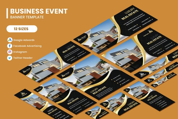 Cover Image For Luxury Home Google Adwords Template