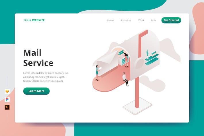 Thumbnail for Service de courrier - Page de destination