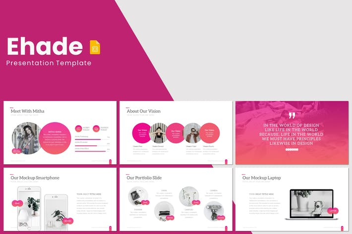 Thumbnail for Ehade - Google Slides Template