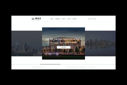 Max Photography - Photographer HTML Template