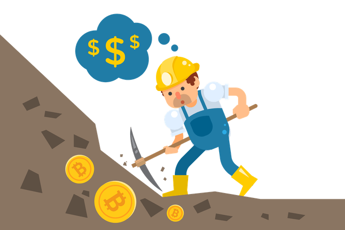 Thumbnail for Bitcoin Mining Illustration