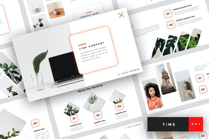 Thumbnail for Time - Creative PowerPoint Template