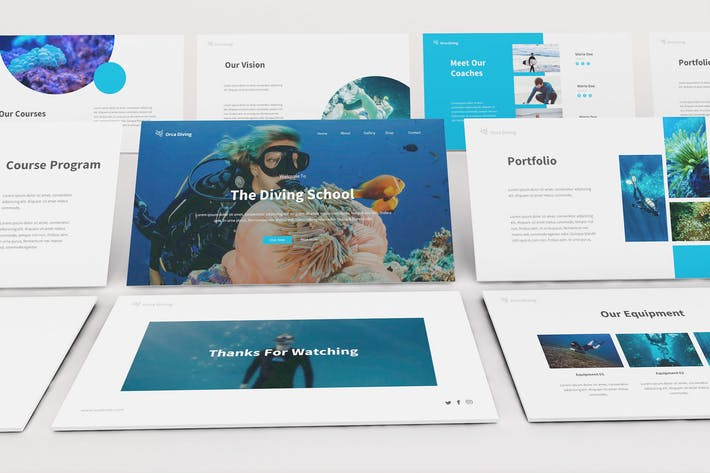 The Dive Keynote Template