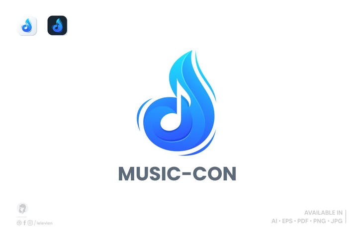 Musik-Con-Logovorlage