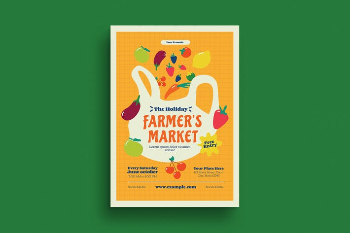 Thumbnail for Farmer's Market Flyer