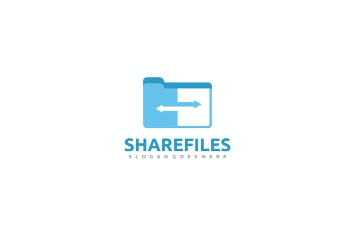 Thumbnail for Share Files Logo