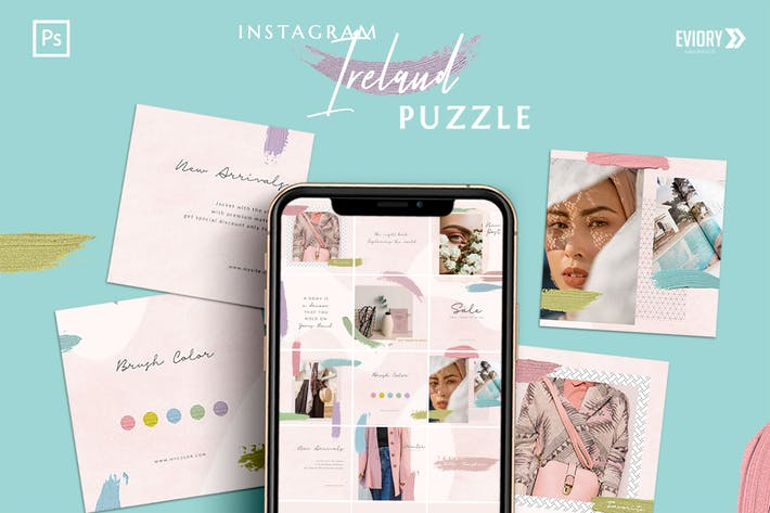 Thumbnail for Irland - Instagram PUZZLE