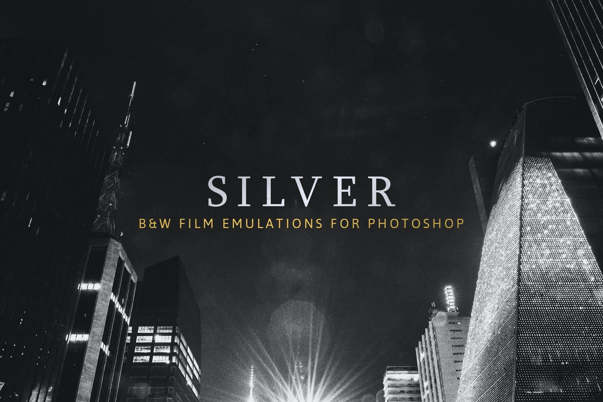 Silver 28 real bw film emulations