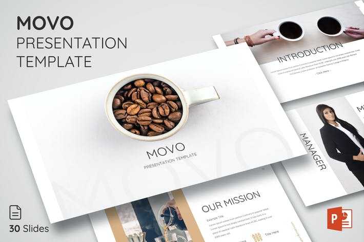 Thumbnail for Movo - Powerpoint Presentation Template