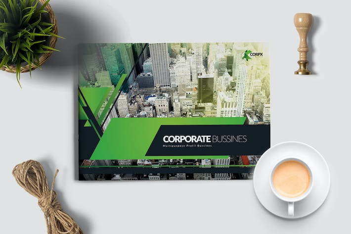 Thumbnail for Corporate Modern Brochure Photoshop
