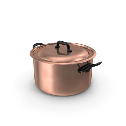 Kupfer Suppentopf
