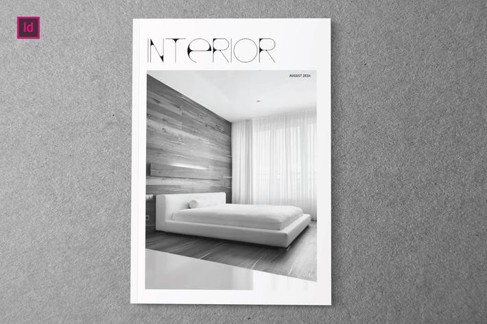 Cover Image For INTERIOR - Indesign Magazine Template