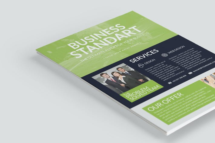 Thumbnail for Business Multipurpose Flyer Template