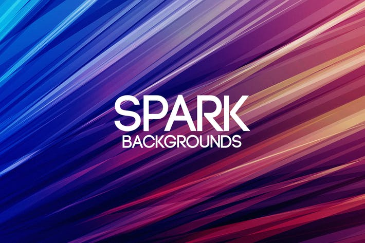 Thumbnail for Colorful Spark Backgrounds