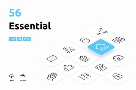 Essential - Icons Pack