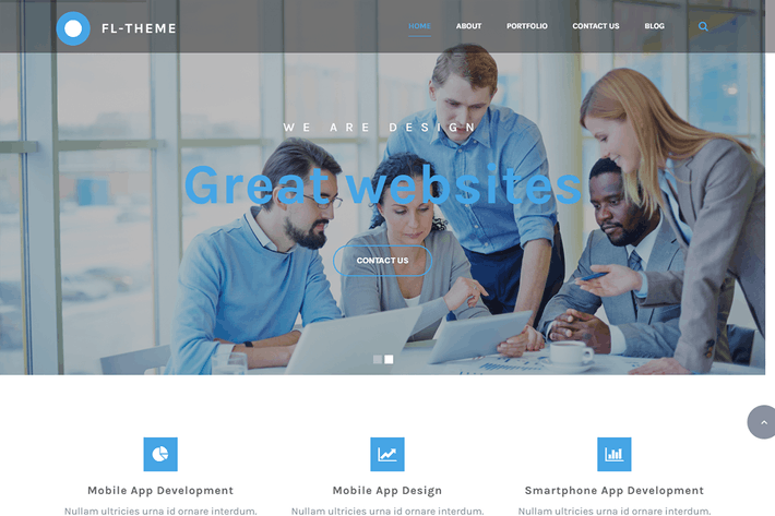 Cover Image For Fl -Multi-Purpose Responsive OnePage HTML Template