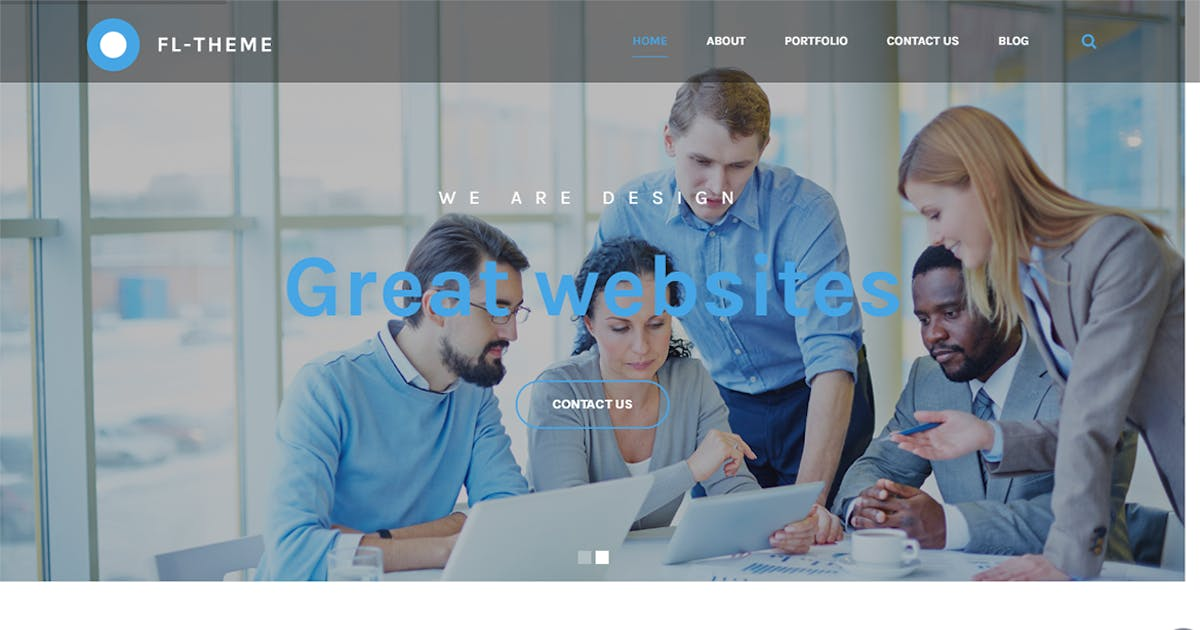 Download Fl -Multi-Purpose Responsive OnePage HTML Template by themesflat