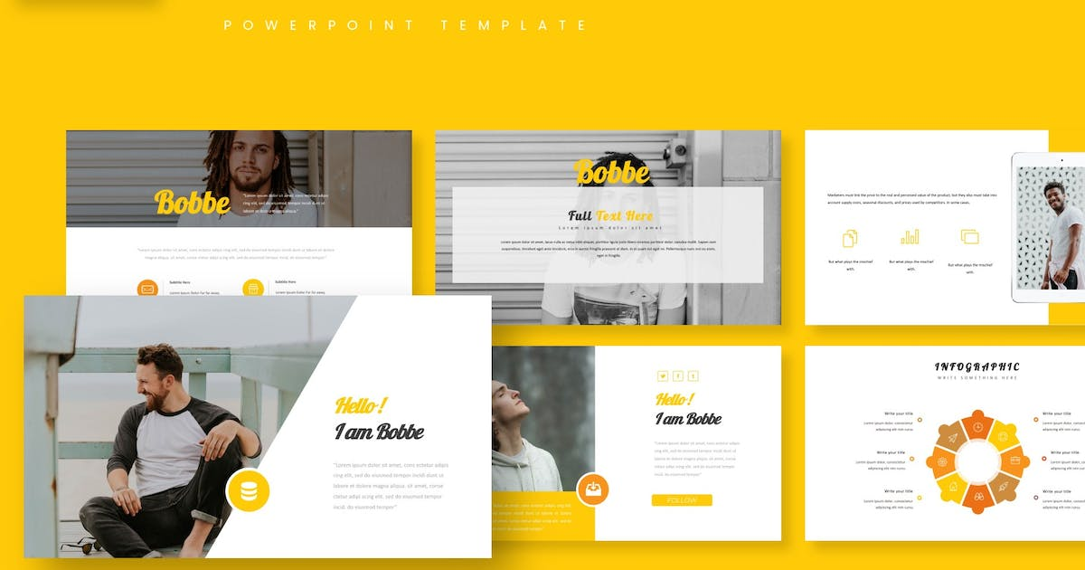 Download Bobbe - Powerpoint Template by aqrstudio