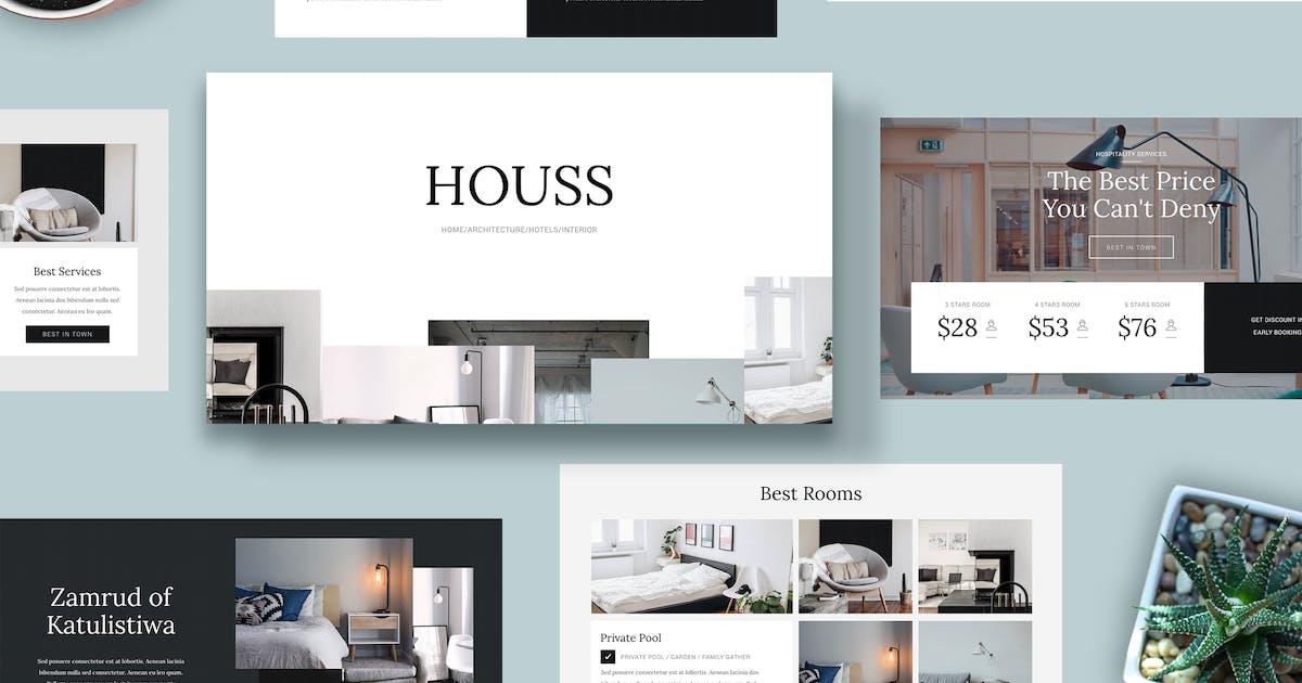Download HOUSS - Keynote Template by Slidehack