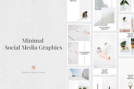 Historias Minimalista de Instagram
