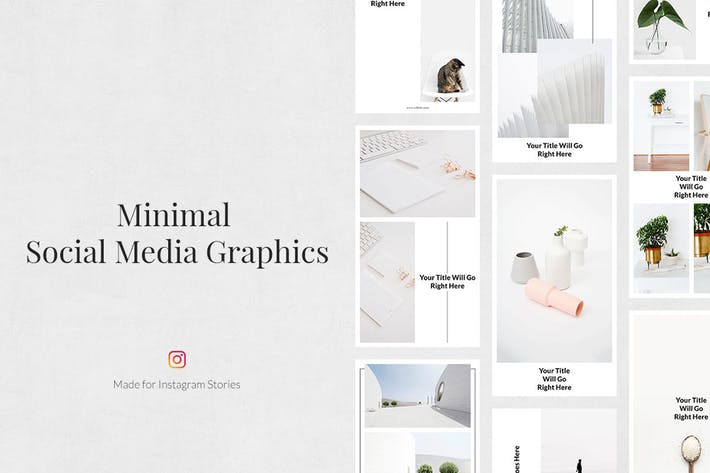Thumbnail for Minimale Instagram-Stories
