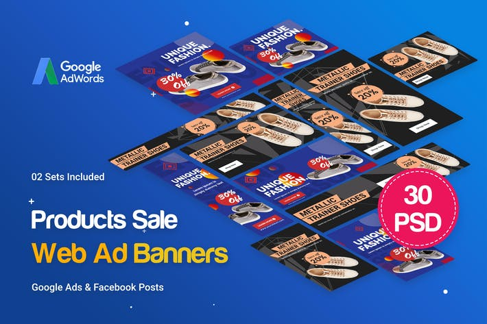 Cover Image For Products Sale Banners Ad