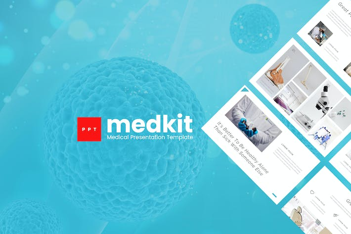 Thumbnail for Medkit - Medical Powerpoint Presentation Template
