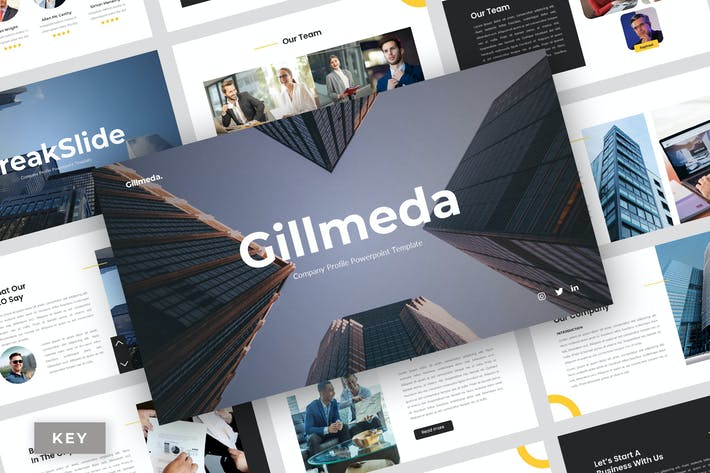 Thumbnail for Gillmeda - Корпоративный Шаблон Keynote