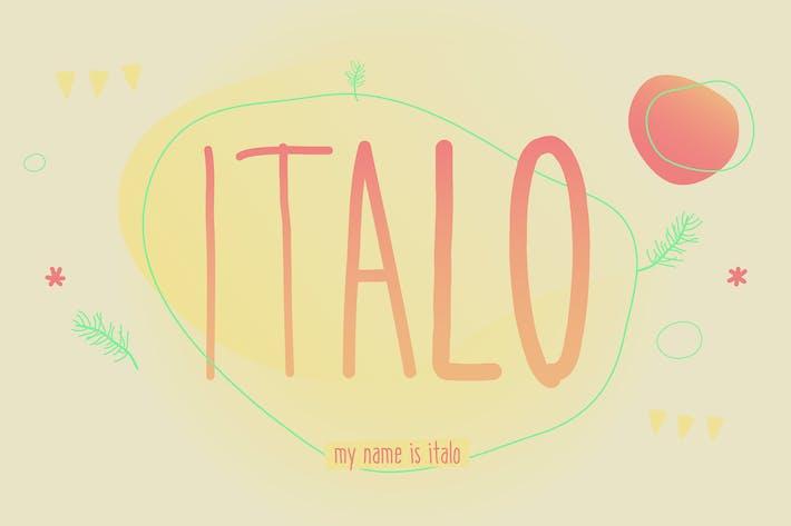 Cover Image For Italo