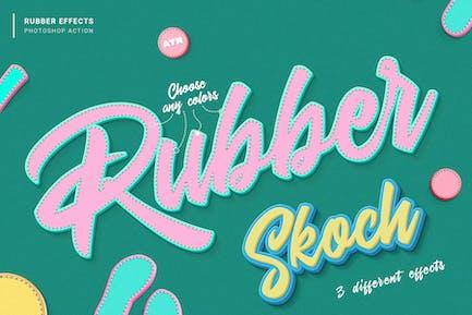Rubber Photoshop Action