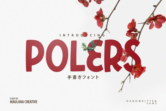 Thumbnail for Polers - Sans Serif Font