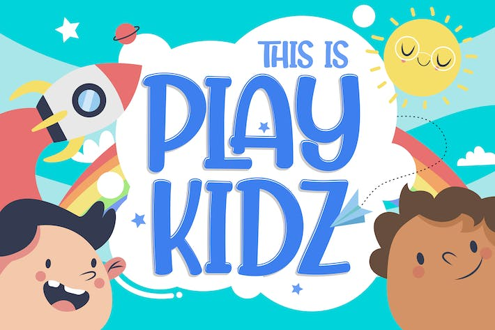 Cover Image For Playkidz - Fun Font