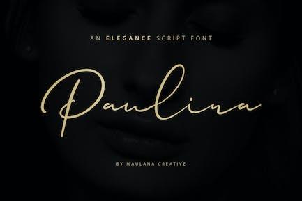 Paulina Elegance - Fuente de escritura
