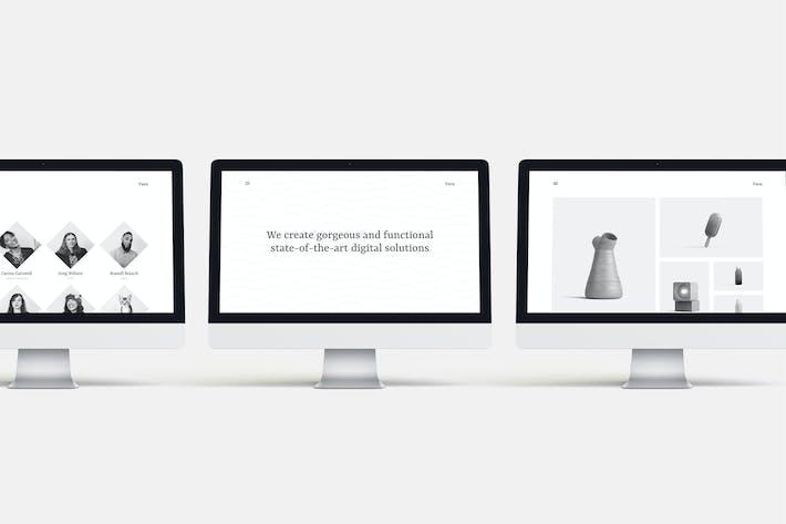Thumbnail for Vava — Minimalistic Multipurpose Template