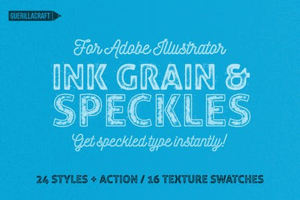 Ink Grain & Speckles for Adobe Illustrator