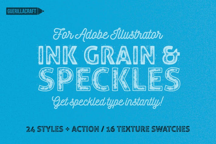 Thumbnail for Ink Grain & Speckles for Adobe Illustrator