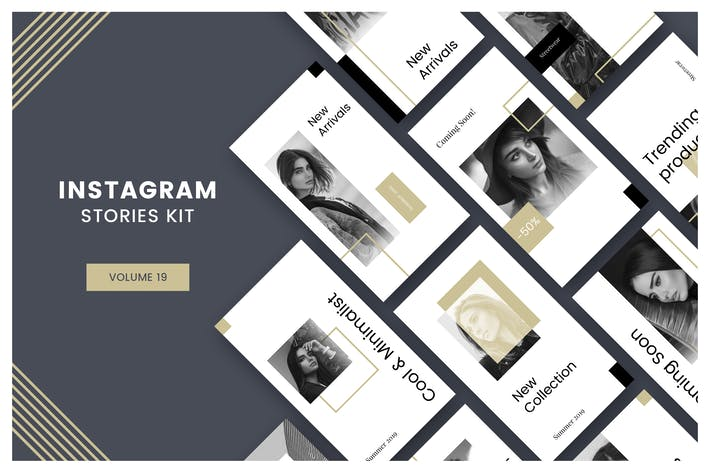 Thumbnail for Instagram Stories Kit (Vol.19)