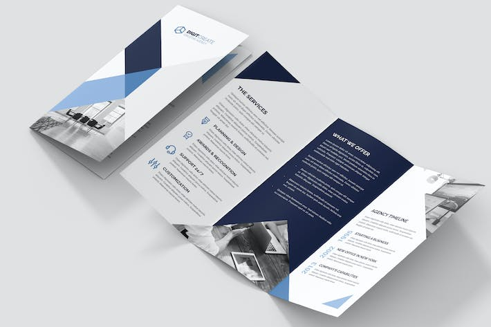Thumbnail for Brochure – Digital Agency Tri-Fold