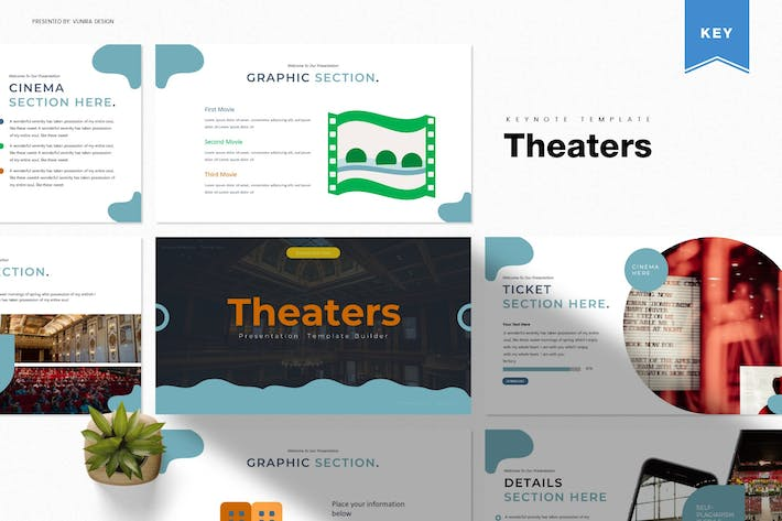 Cover Image For Theaters | Keynote Template
