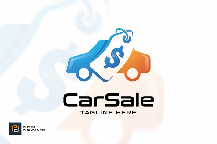 Cover Image For Car Sale - Logo Template