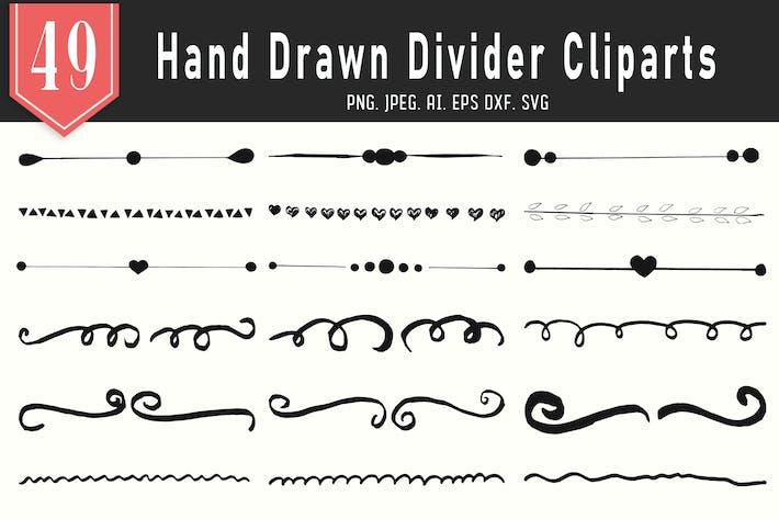 Thumbnail for 45+ Handmade Dividers Cliparts