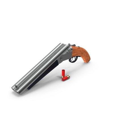Escopeta de doble cañón