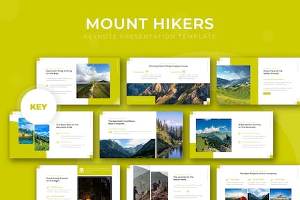The Mount Hikers - Keynote Template