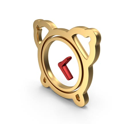Wecker Time Logo-Symbol