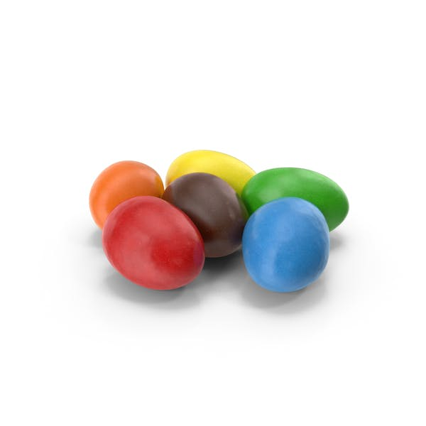 Cover Image for Small pile of Peanuts with Colored Chocolate coating