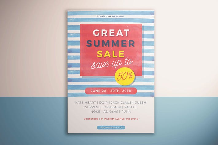 Thumbnail for Summer Sale FLyer Vol. 02