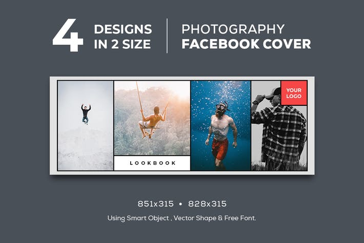 Thumbnail for Photography Facebook Cover Vol. 1