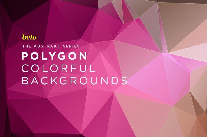 Thumbnail for Polygon Abstract Backgrounds V14