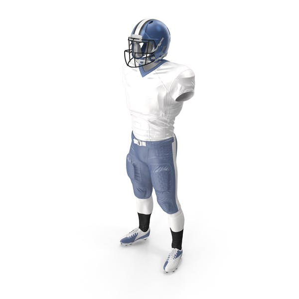 American Football Player Uniform