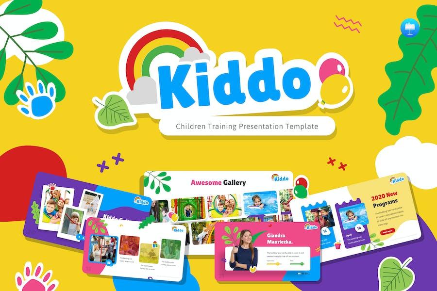 Kiddo Education Keynote Template